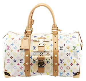 Louis Vuitton Keepall 45 Multi-Color Travel Bag