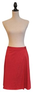 Arden B. Skirt Red Wrap