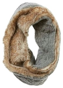 Aerie Aerie knitted faux fur snood