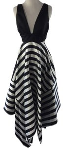 NICHOLAS Cut-out Bold Stripe Dress