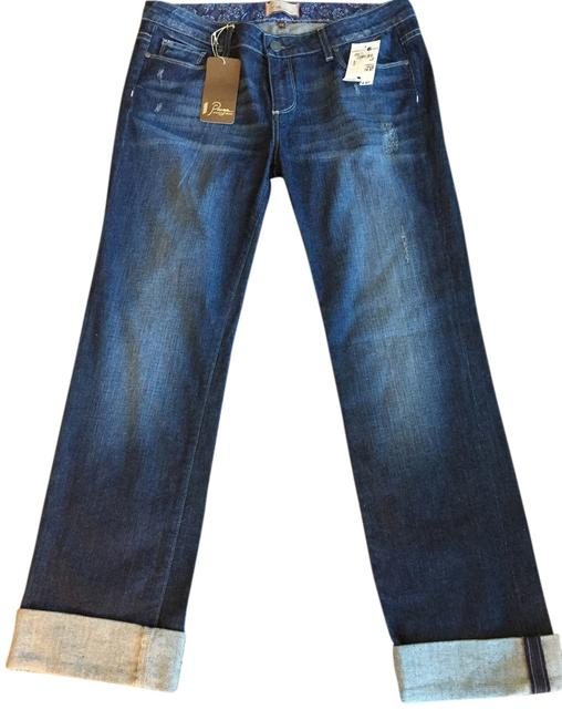 Item - Medium Dark Wash Distressed Jimmy Jimmy Relaxed Fit Jeans Size 29 (6, M)