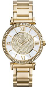 Michael Kors NWT Catlin Gold-Tone Watch MK3332