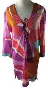 Emilio Pucci short dress Multi Cover Up Beach on Tradesy