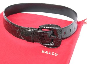 Bally Alligator Made in Italy Belt sz 28