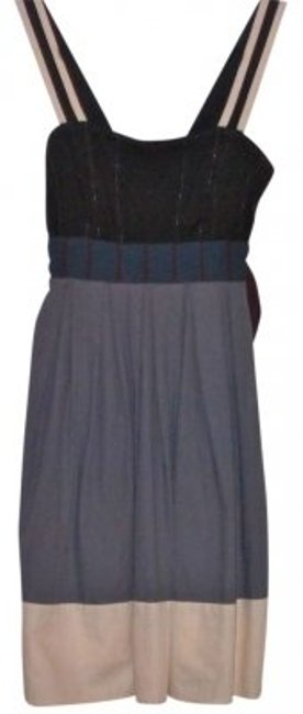Preload https://item1.tradesy.com/images/anthropologie-bluecreamburgundyblack-tie-new-xs-cotton-above-knee-short-casual-dress-size-2-xs-130350-0-0.jpg?width=400&height=650