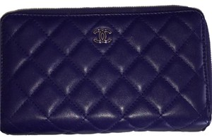 Chanel Purple Clutch