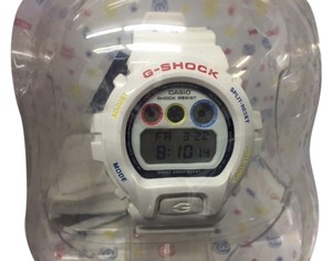 G-Shock Casio G-Shock DW-6900MT-7CR Limited Medicom Bearbrick Watch - White
