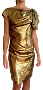 Yoana Baraschi Metallic Dress