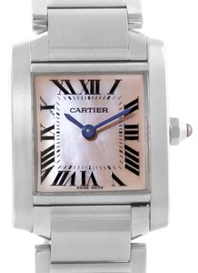 Cartier Cartier Tank Francaise Mother of Pearl Dial Ladies Watch W51028Q3