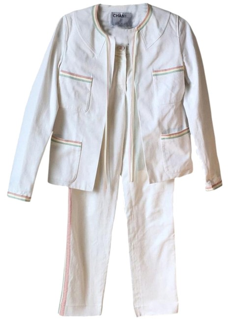 Preload https://img-static.tradesy.com/item/13035352/chanel-white-cream-off-white-amazing-denim-and-jacket-set-pant-suit-size-2-xs-0-5-650-650.jpg