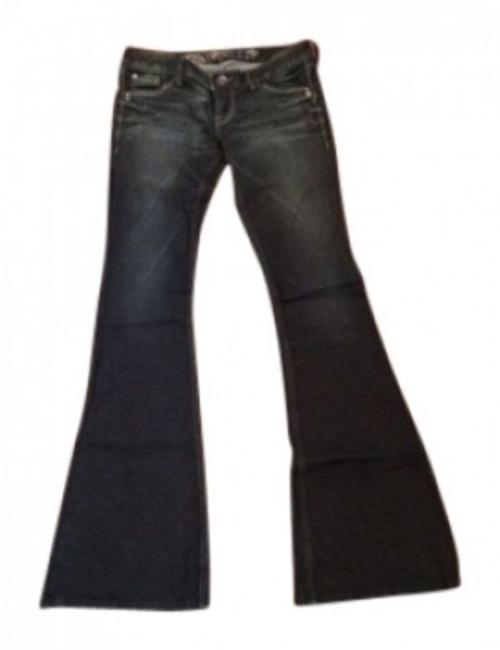 Preload https://img-static.tradesy.com/item/130355/express-dark-rinse-stella-fit-and-regular-fit-low-wash-flare-leg-jeans-size-26-2-xs-0-0-650-650.jpg