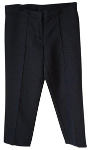 Trina Turk Lined Cropped Capris Black