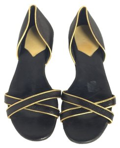 Hollywould Black Sandals