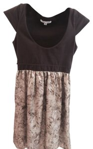 Alice + Olivia short dress Brown, Gold on Tradesy