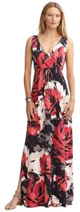 Red Maxi Dress by Banana Republic Patio Maxi Floral