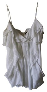 BCBGMAXAZRIA Bcbg Blouse Draped Top White