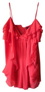 BCBGMAXAZRIA Bcbg Blouse Drape Top Orange