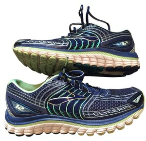Brooks Sneaker Running Comfortable Blue Athletic