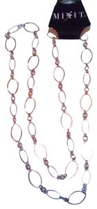 Mixit Mixit Two Tone Stylish Gold & Silver Loop 34