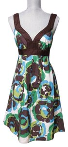 Banana Republic short dress Multi Patio Maxi Summer Animal Print on Tradesy