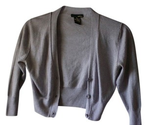 Cropped Cardigan Grey Jacket