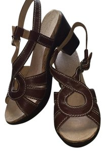 Naturalizer Coffee Bean (Brown) Sandals