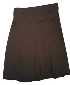Royal Robbins Hidden Pocket A-line Traveling Adventures Skirt Black