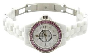 Chanel Chanel J12 GMT Watch with Pink Sapphires