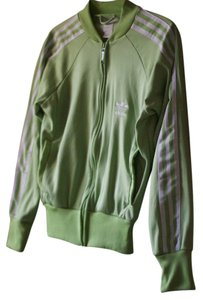 adidas Striped Green Jacket