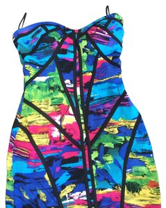 Factory by Erik Hart short dress Rainbow on Tradesy