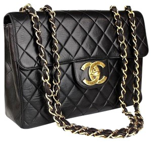571d5535f18c Added to Shopping Bag. Chanel Classic Flap Double Flap Le Boy Crossbody Shoulder  Bag. Chanel Jumbo Quilted with Dustbag Black Lambskin ...