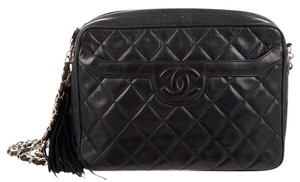 Chanel Vintage Camera Classic Flap Jumbo Cross Body Bag