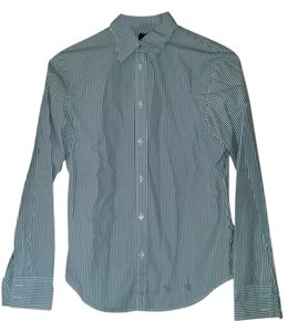 Gap Button Down Shirt Charcoal