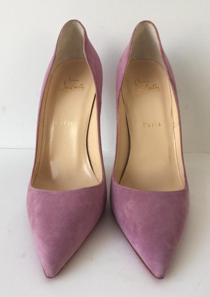 26d70106f74 Christian Louboutin Pink So Kate 120 Rosette Suede Pumps Size US 11