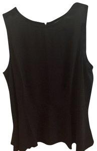 Eileen Fisher Silk Top Black