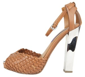 Ralph Lauren Tan Platforms