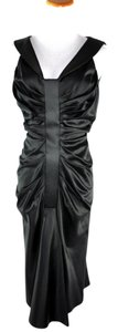 Dior Christian Liquid Satin Sleeveless Size 10 Dress