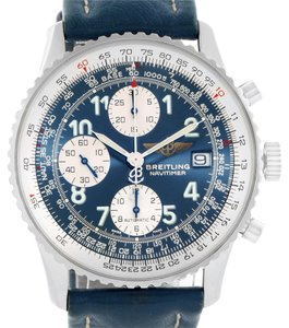 Breitling Breitling Navitimer II Automatic Steel Blue Strap Mens Watch A13322