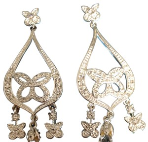 Nine West Butterfly Crystal Earrings