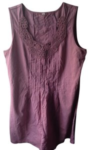 Other Boho Bohemian Festival Hippie Hipster Top Mauve Purple
