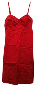 The Limited short dress Red Empire Waist on Tradesy