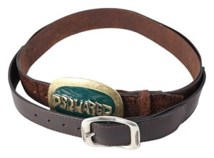 Dsquared2 DQuared2 Ladies Leather Belt - Size Small