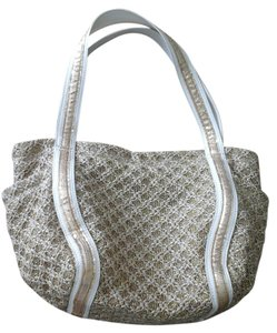 Carlos by Carlos Santana Tote in Gold/Cream