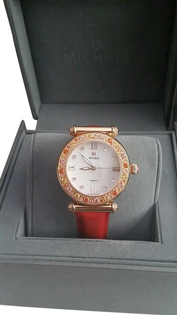Item - Rose Gold Topaz Orange New Limited Edition #088/100 Caber Diamond Marker Watch
