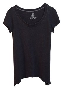 Chaser Soft Casual T Shirt Charcoal Grey