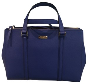 Kate Spade Spring Satchel in Hyacinth Blue