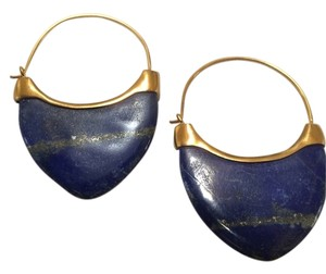 Anticoa Lapis Lazuli 24K over .925 Sterling Silver Earrings