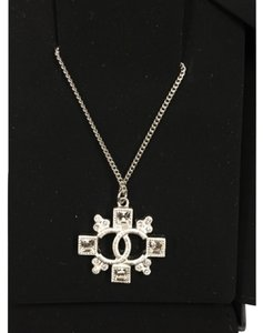 Chanel Chanel CC Crytal Necklace