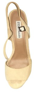 Steve Madden Suede Taupe Wedges