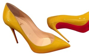 Christian Louboutin Yellow Moutarde Pumps